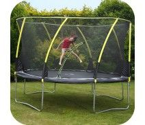 PLUM® 12FT WHIRLWIND TRAMPOLINE AND 3G® ENCLOSURE