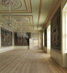 Todo el que quiera podrá visitar desde el próximo 27 de febrero al 30 de mayo las dependencias de la futura residencia de los Herederos en el pabellón Federico VIII