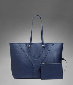 Check out Large YSL Reversible Tote in Navy Blue & Red Leather at http://www.ysl.com/en_US/product/804628529
