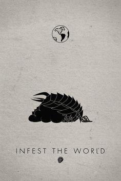 Starcraft Infestor Art Print