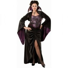 Vampire Vixen Adult Plus Size Costume - Halloween Plus Size Costumes For Women