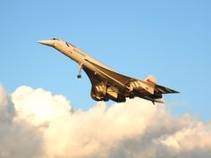 """Concorde: """"In Her VERY NATURAL Environment!""""   (Where she STILL should be!)  British Airways."""