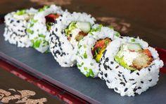 Ritz Carlton DIFC, Arabic Sushi, Recipe, Chef  Ron and Majde