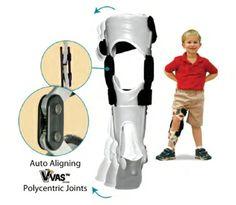 Pediatric V-VAS™ Knee Ankle Foot Orthosis   Anatomical Concepts Inc. Orthotic Manufacturer, original designers of the PRAFO