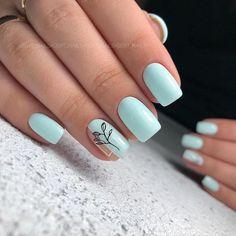 Дизайн на короткие ногти Chic Nails, Stylish Nails, Trendy Nails, Cute Acrylic Nail Designs, Best Acrylic Nails, Nail Art Designs, Diy Music, Design Page, Easter Nails