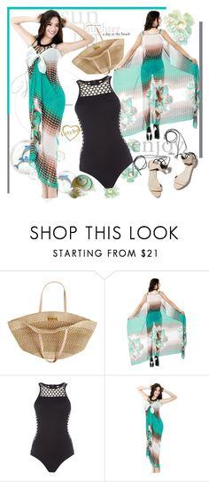 """ENTER CONTEST! Beach Wear - Mylttcbro.com"" by bebushkaj ❤ liked on Polyvore featuring Flora Bella, Seafolly and 3.1 Phillip Lim"