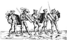 15th Century Pavises -- myArmoury.com Shows various strap / handle methods used.