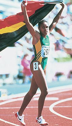 Cathy Freeman 1994 printed 2000 Courtesy of SPORT, The library Aboriginal History, Aboriginal Culture, Aboriginal People, Olympic Team, Olympic Games, Writing Pictures, Commonwealth Games, Black Pride, Sports Stars