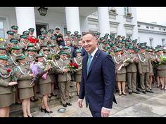 Prezydent podczas obchodów Święta Straży Granicznej - YouTube Snapchat, Youtube, Youtubers, Youtube Movies