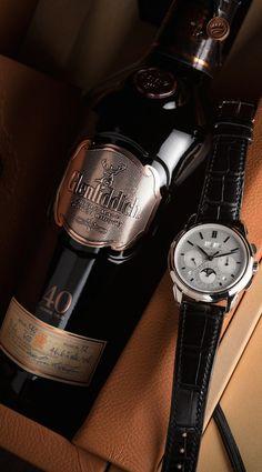 Glenfiddich 40 + Patek Philippe 5270 V