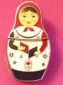 Sochi 2014 Olympics Sponsor Pin CGC Canadian Construction Nesting Doll Opens Up | eBay