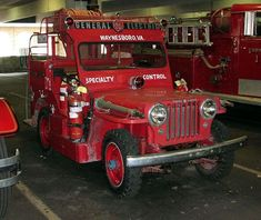 us Waynesboro,VA General Electric Fire Brigade Willys light duty 1951 Fire Dept, Fire Department, Ambulance, Brush Truck, Rescue Vehicles, Jeep Vehicles, Police Truck, Fire Equipment, Electric Fires