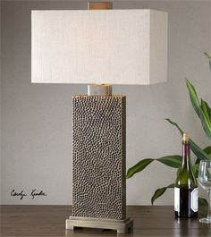 Uttermost Canfield Coffee Bronze Table Lamp (26938-1)
