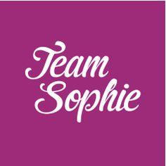 Team Sophie button/avatar