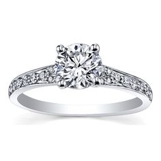 Corona Engagement ring at #savoysjewellers