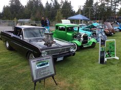 At the last car show of the season. Brookswood High School's first ever show. Great turnout!! Langley BC Canada.