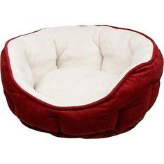 Petco Cuddler Bed in Berry: http://www.amazon.com/Petco-Cuddler-Bed-in-Berry/dp/B002J03CKE/?tag=greavidesto05-20