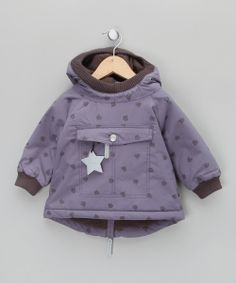 Purple Star Anorak by Mini A Ture £29.99