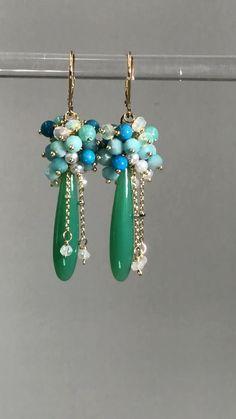 Black Pearl Earrings, Bar Stud Earrings, Beaded Earrings, Earrings Handmade, Beaded Jewelry, Dangle Earrings, Fine Jewelry, Handmade Jewelry, Dior Earrings
