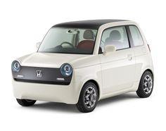 Honda EV-N Concept. So cute!