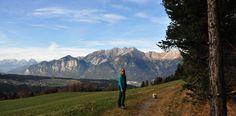 Wandelen van Igls naar Patch kan 's zomers en 's winters! Een leuke familiewandeling! #Innsbruck #Tirol