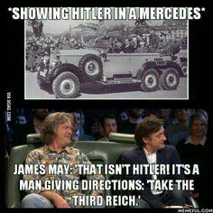 When Top Gear do puns...