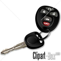 CLIPART IGNITION CAR KEY