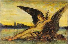 Gustave Moreau - Venise et le lion