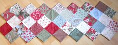 ZigZag Tablerunner Colourful patchwork table by ComfyCosyCrafts, $45.00