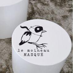 Sticker - Le moineau masqué - - Le Repère des Belettes