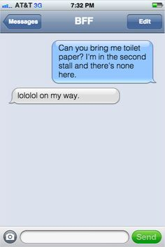 You're totally on the toilet right now... aren't you?