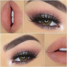We love this soft romantic look by Perfect for wedding season! She is wearing our lashes in ? Eyes: and Lashes: Noir Fairy Brows: Ebony Dipbrow Lips: Lined with Nude Lip Liner and Audrey Lipstick Contacts: Pure Hazel Hazel Eye Makeup, Eye Makeup Tips, Love Makeup, Skin Makeup, Makeup Looks, Makeup Ideas, Makeup Inspiration, Makeup Tricks, Makeup Products