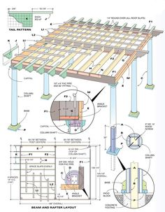 pergola plans family handyman