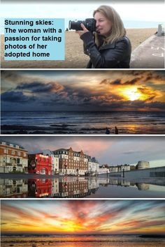 Meet the bank clerk whose passion is taking photos of the stunning skies in her adopted home of Thanet.