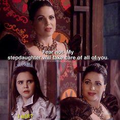 """Regina and Snow White - 5 * 13 """"Labor of Love"""""""