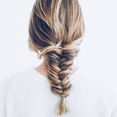 """A girl without braids is like a city without bridges."" - Roman Payne .....thanks for lending your lovely locks @jessannkirby"