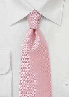 Textured Tie in Light Shade of Pink