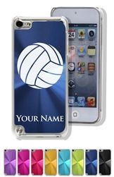 Apple iPod Touch 5th/6th Generation case | Personalized | Volleyball Ball