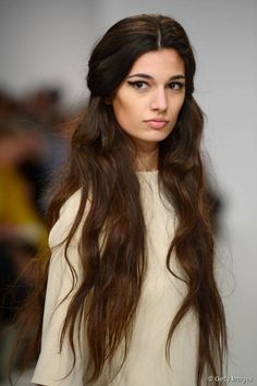 Long princess waves  Cascading fairytale hair is always inspirational (in the sense it makes most of us pine for what we don't have) and with loose, romantic waves, it's almost too pretty! But we still totally want it. Like, yesterday.