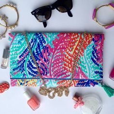 White Electric Feel Lilly Pulitzer