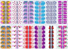 Manicure Y Pedicure, Nails, Manicures, Floral, Wallpapers, Cartoon, Design, Nail Jewels, Gel Nails