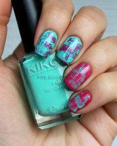 Nails to photos: #ablecs15 Week 9: Mint & Pink