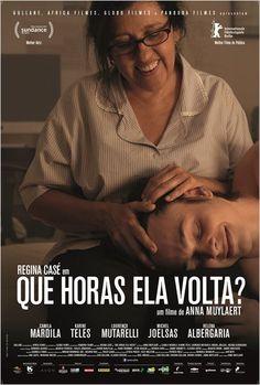 Que Horas Ela Volta? - Poster & Trailer | Portal Cinema