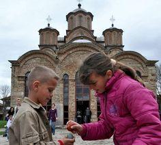 Hristos Voskrese Gračanica 2012 Serbian History 101 - Kosovo, Serbia's Jerusalem. Косово, Србија Јерусалим.