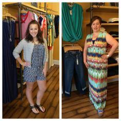 Frox Fashion Friday!  Here are Kristin and Robin's picks for the week! Stop in for our Red, White, and Blue sale going on this weekend only! Like, comment, and share, but don't forget to tell us what your favorite look is!