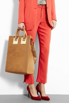 Stamped Tote Bag by Sophie Hulme