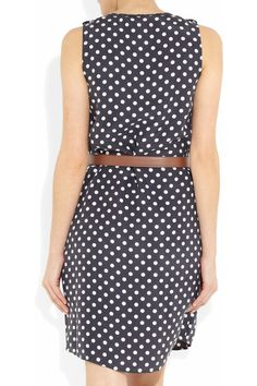 MICHAEL Michael Kors Polka-dot silk dress