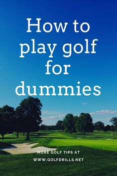 Golf Tips For Beginners How to play golf for dummies guide provided by Golf Drills. What you need to play golf, what are the basic golf rules and how you should behave on the golf course. Read the post and learn. Tennis Rules, Tennis Tips, Tennis Gear, Tennis Clothes, Tennis Equipment, How To Play Tennis, Play Golf, Golf Etiquette, Best Golf Courses