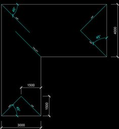how to draw hip roof plan