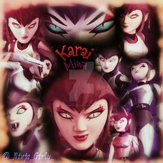 Karai/Miwa [Digital Edit] by NinjaGirlyJayJay on DeviantArt